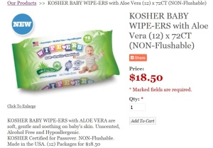 passover baby wipes
