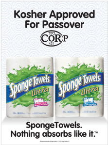 passover paper towels