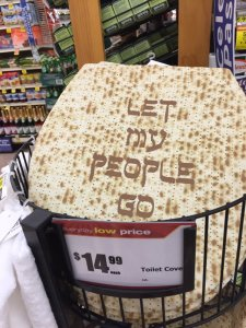 passover toilet cover