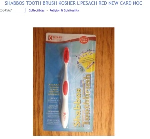 passover toothbrush